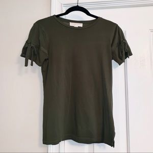 Micheal Kors Olive Green Top